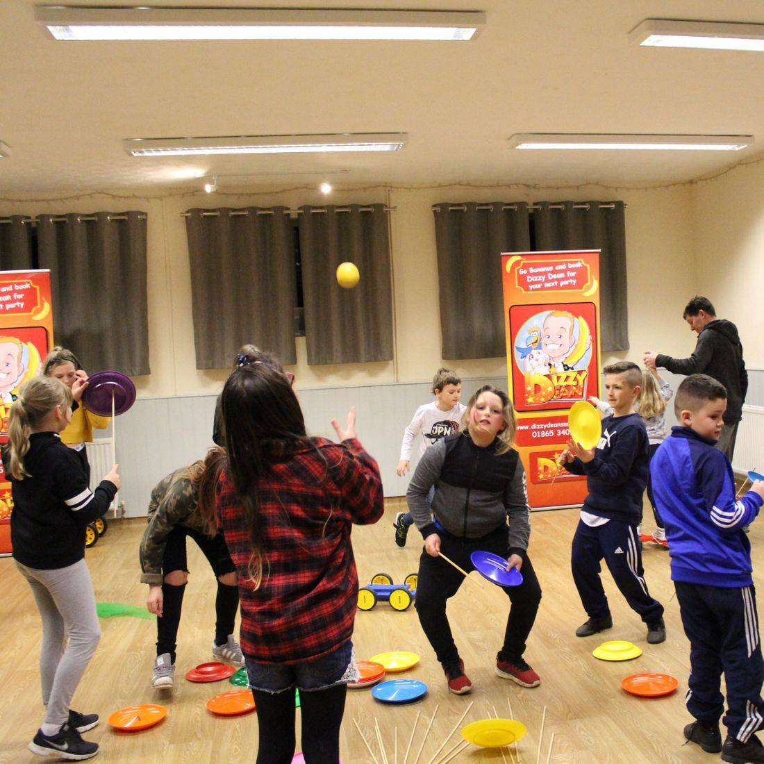 Youth Club Circus Workshop