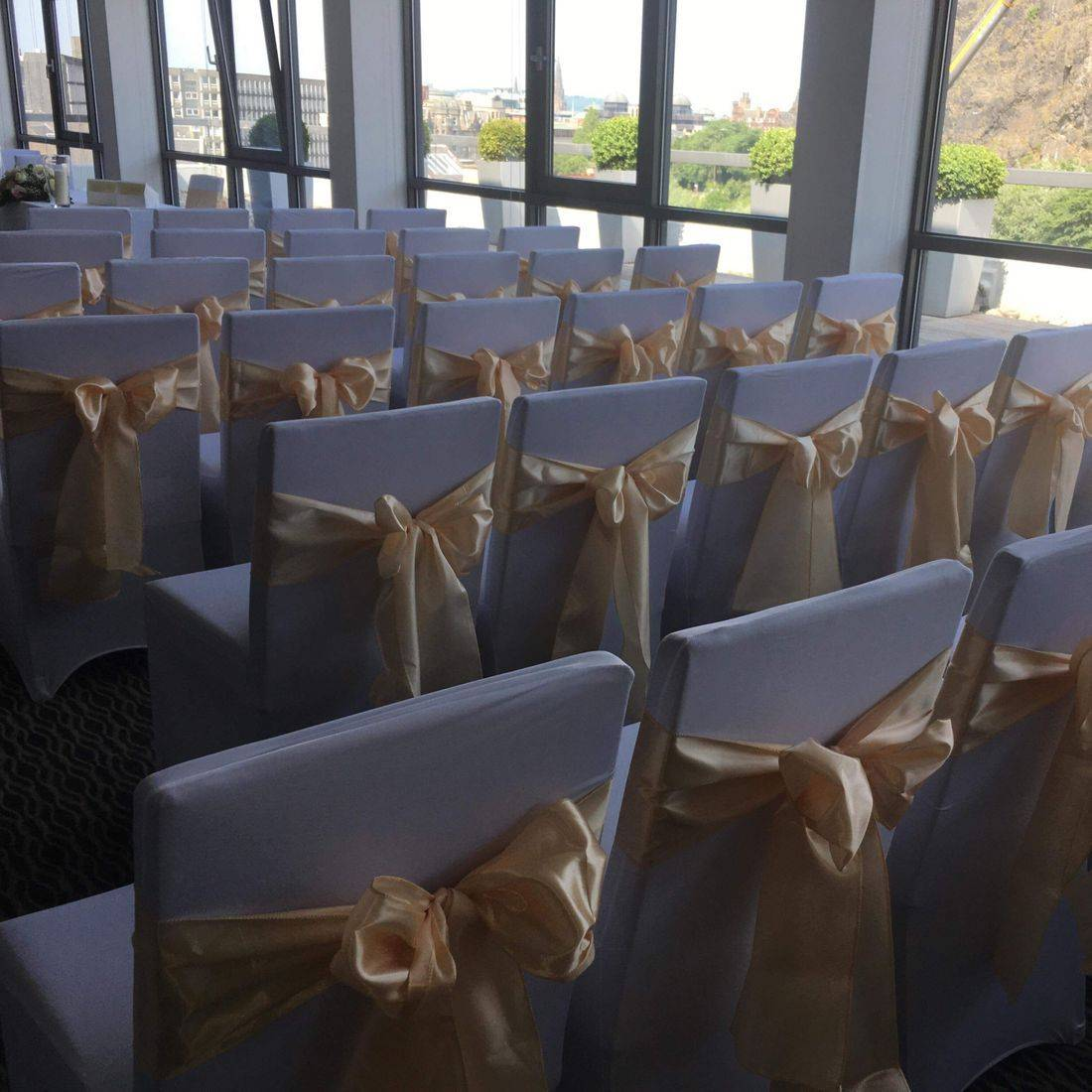Chair cover hire edinburgh apex hotel