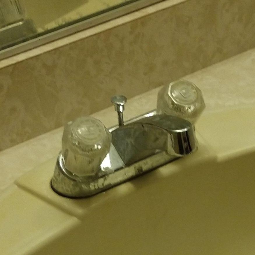 Old Bathroom Sink Faucet