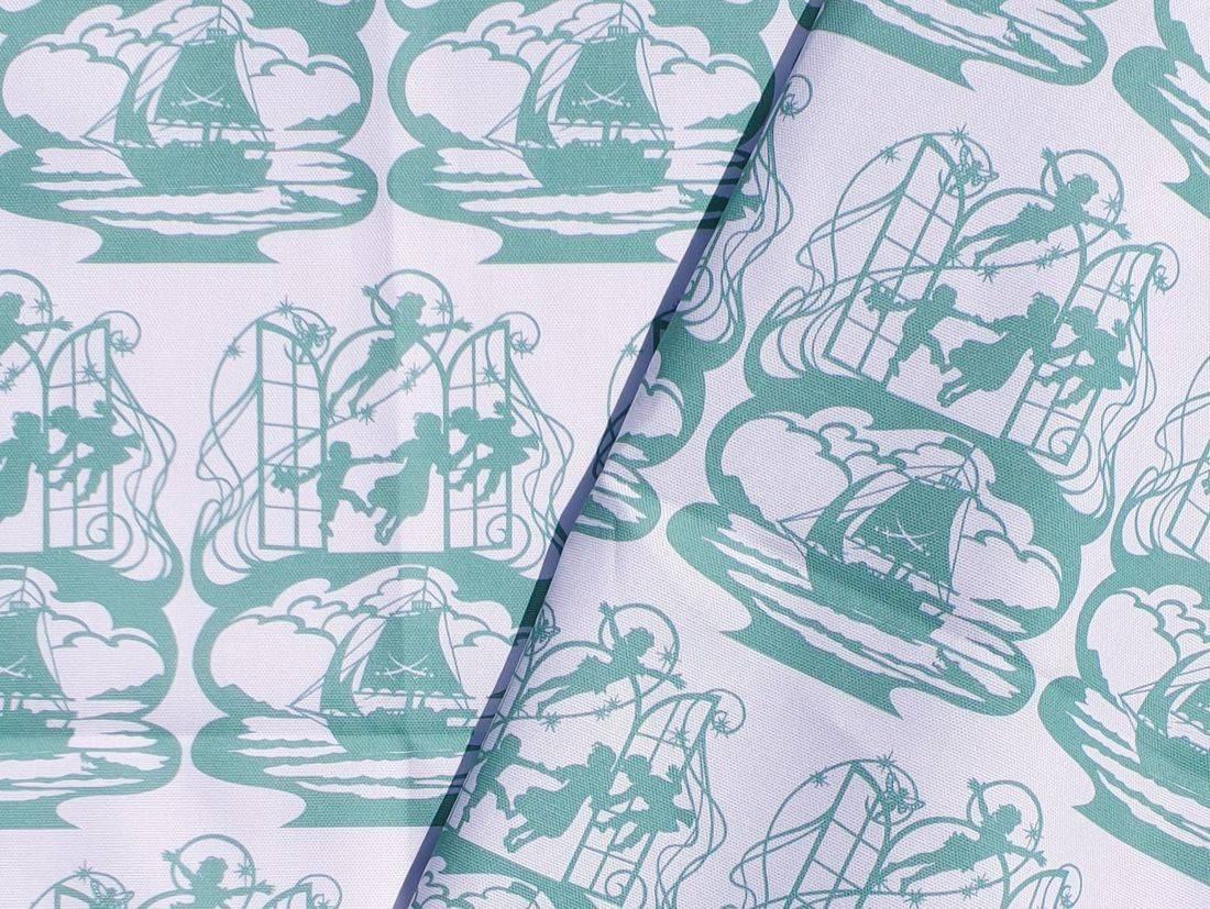 peter pan fabric, fabric printed to order, bramble crafts, homewares