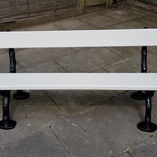 Refurbish bench painting