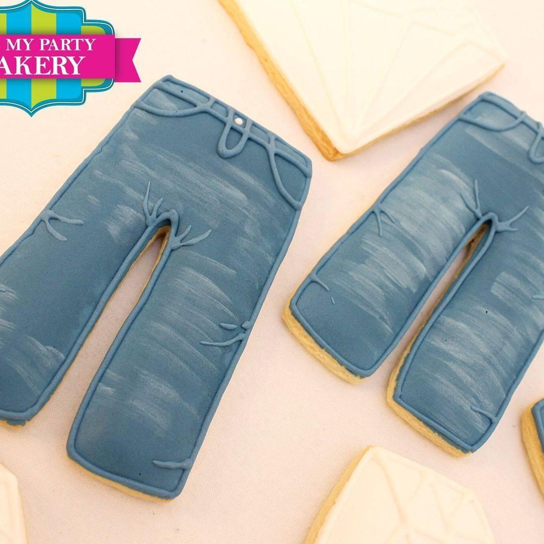 Jeans Diamonds cookies Milwaukee