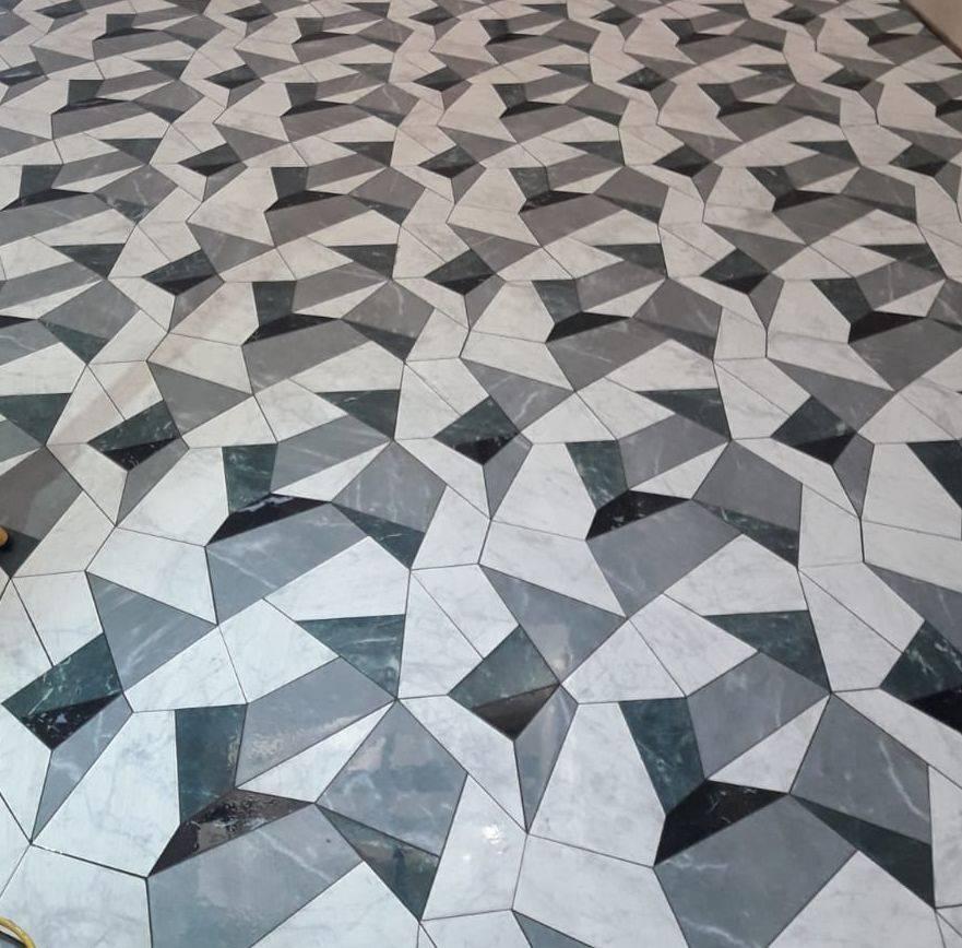 3d laser cut tiles
