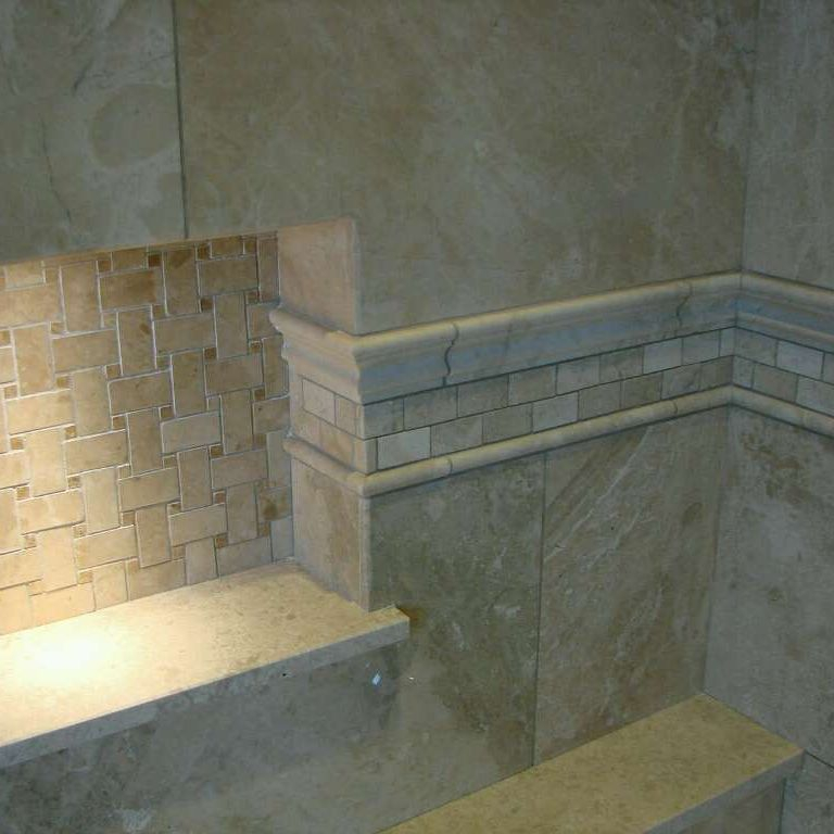 tiling,natural stone,niche,bathroom renovation,floor and wall tiling,
