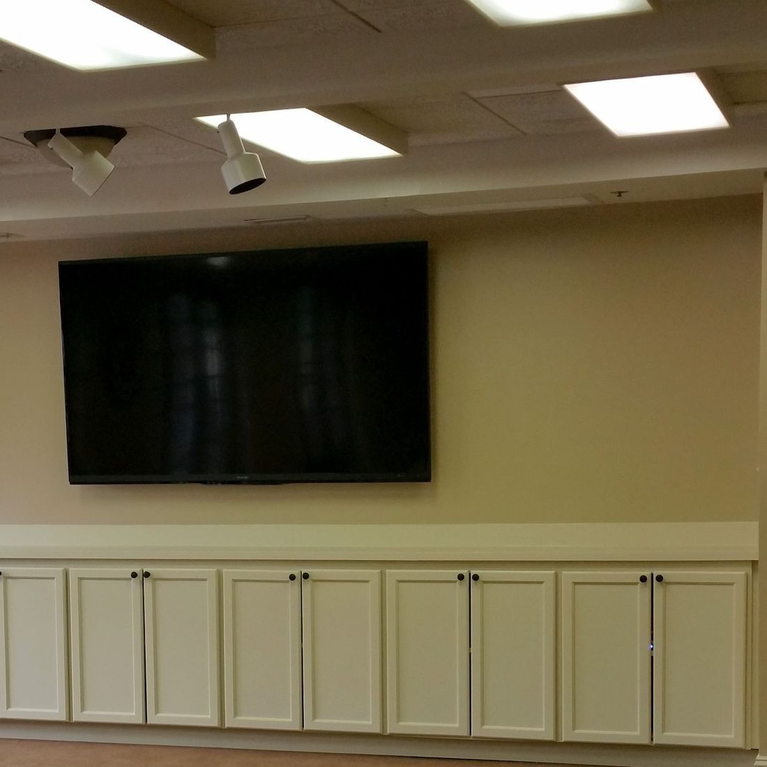 media room, office, conference room