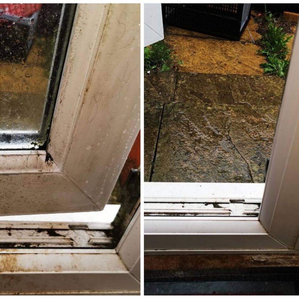PVC Door Window Clean