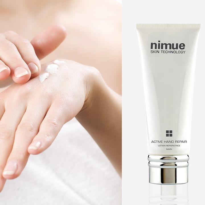 Active hand repair, hand lotion, hand cream, anti ageing hand cream, Nimue