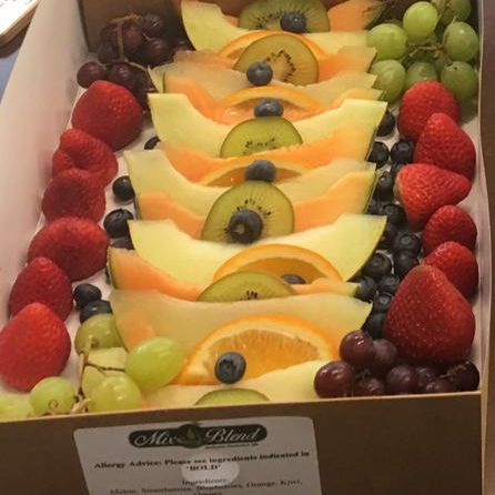 Mix & Blend Catering Fresh Fruit Platter
