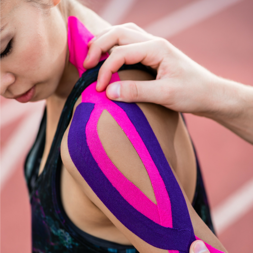 Kinesiotaping, Fort Saskatchewan, Sports Taping, Muscle Taping, Acupuncturist