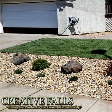 Elk Grove Landscape Designs Creative Falls