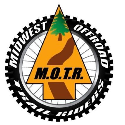 M.O.T.R logo surrounded my dirt bike tire