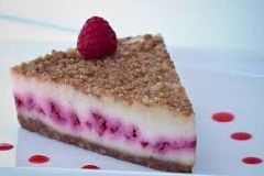 vegan berry custard tort