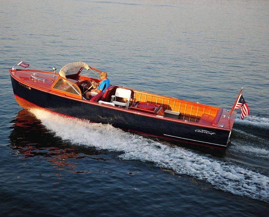Photo courtesy of Jim Wangard of Classic Boating Magazine