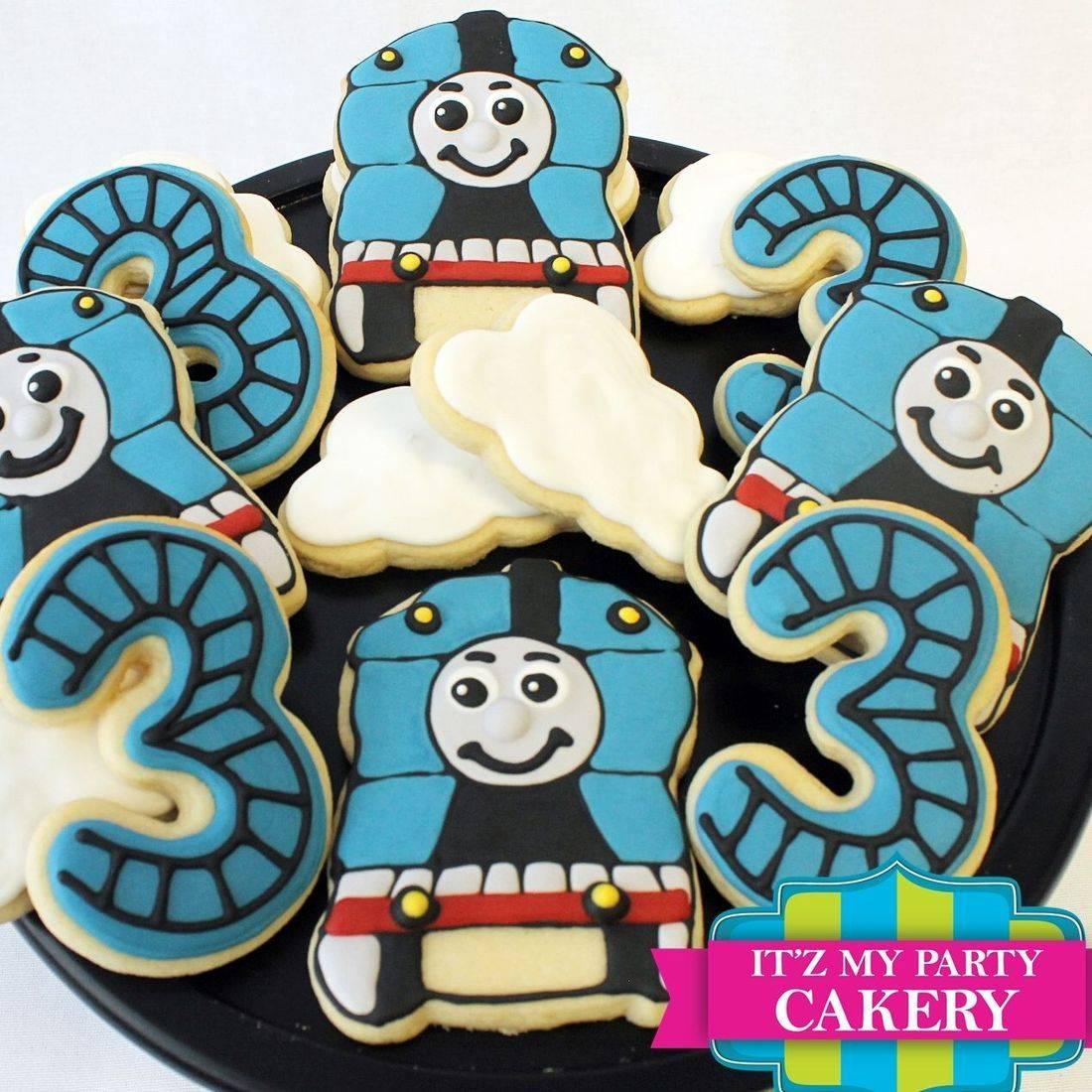 Thomas the Train cookies Milwaukee