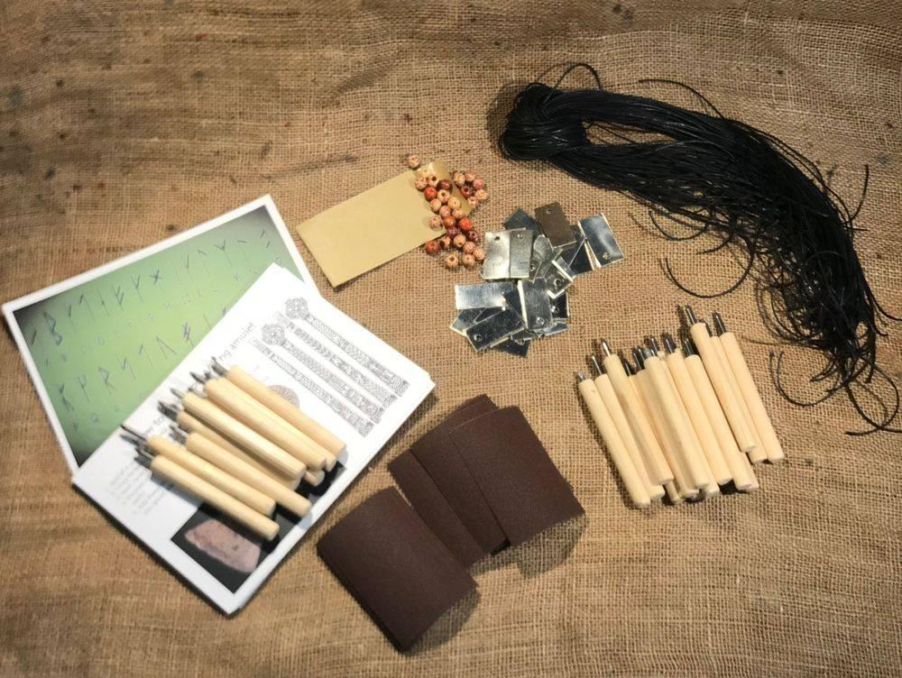 Viking Amulet Craft Kit for School History Resources KS2