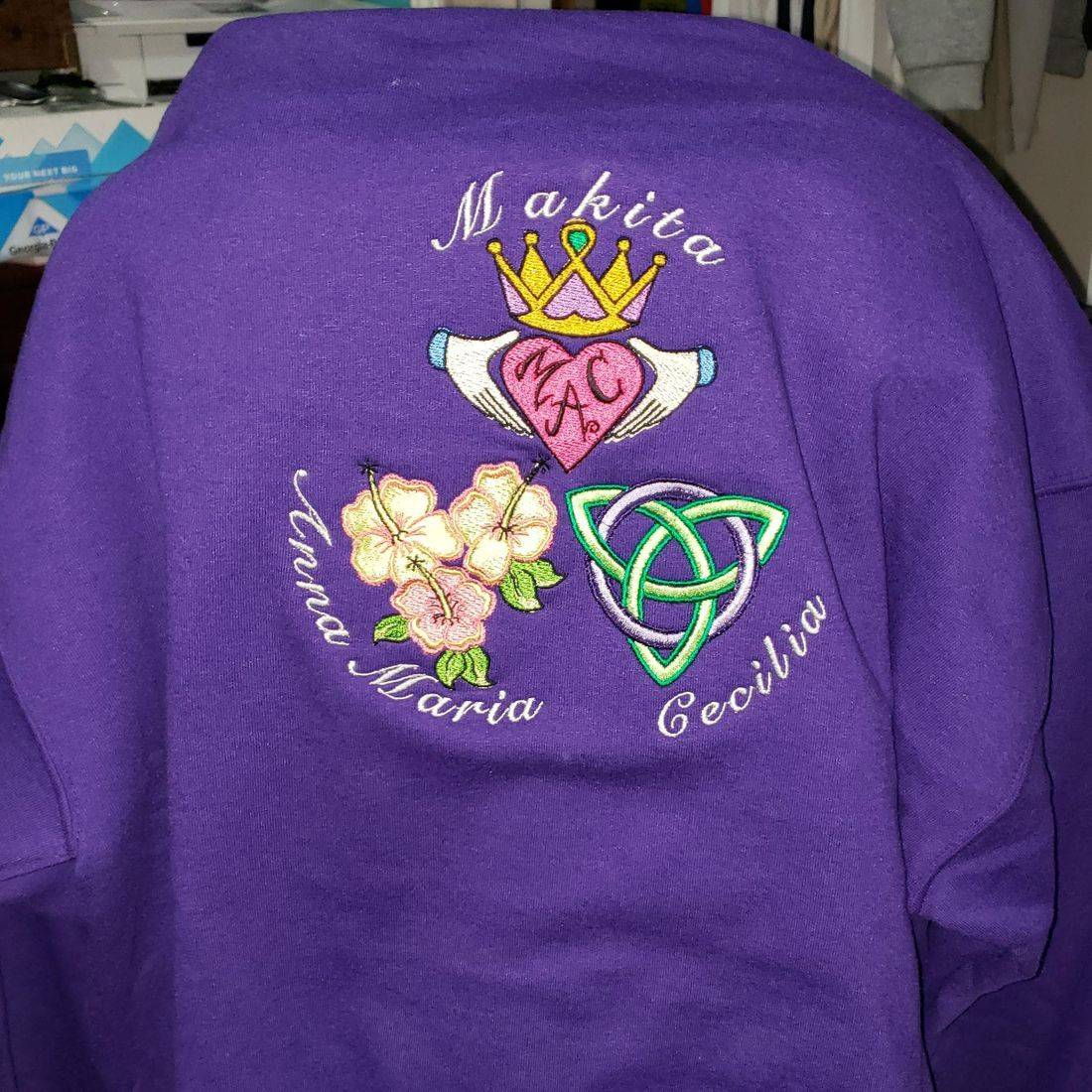 Personalized Embroidered Hoodie