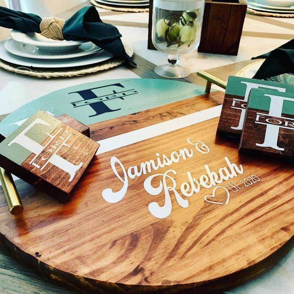 Wooden Serving Trays