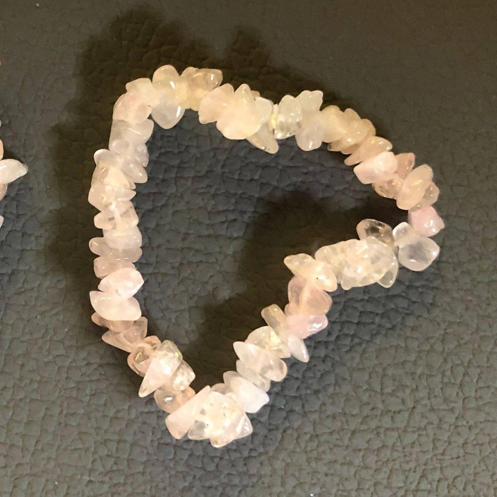 splitarmband, edelsteenarmband, roze kwarts, rozenkwarts, kinderarmband, kind