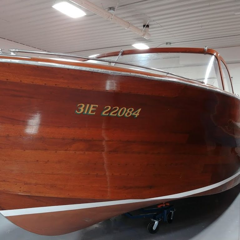 vintage shepherd for sale, lake geneva boat showroom