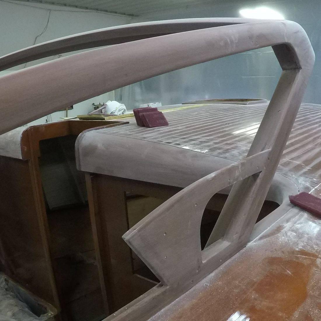 windshield  on 30 shepherd boat