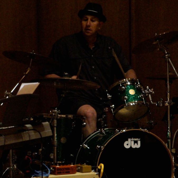 Brian Frew on Drums