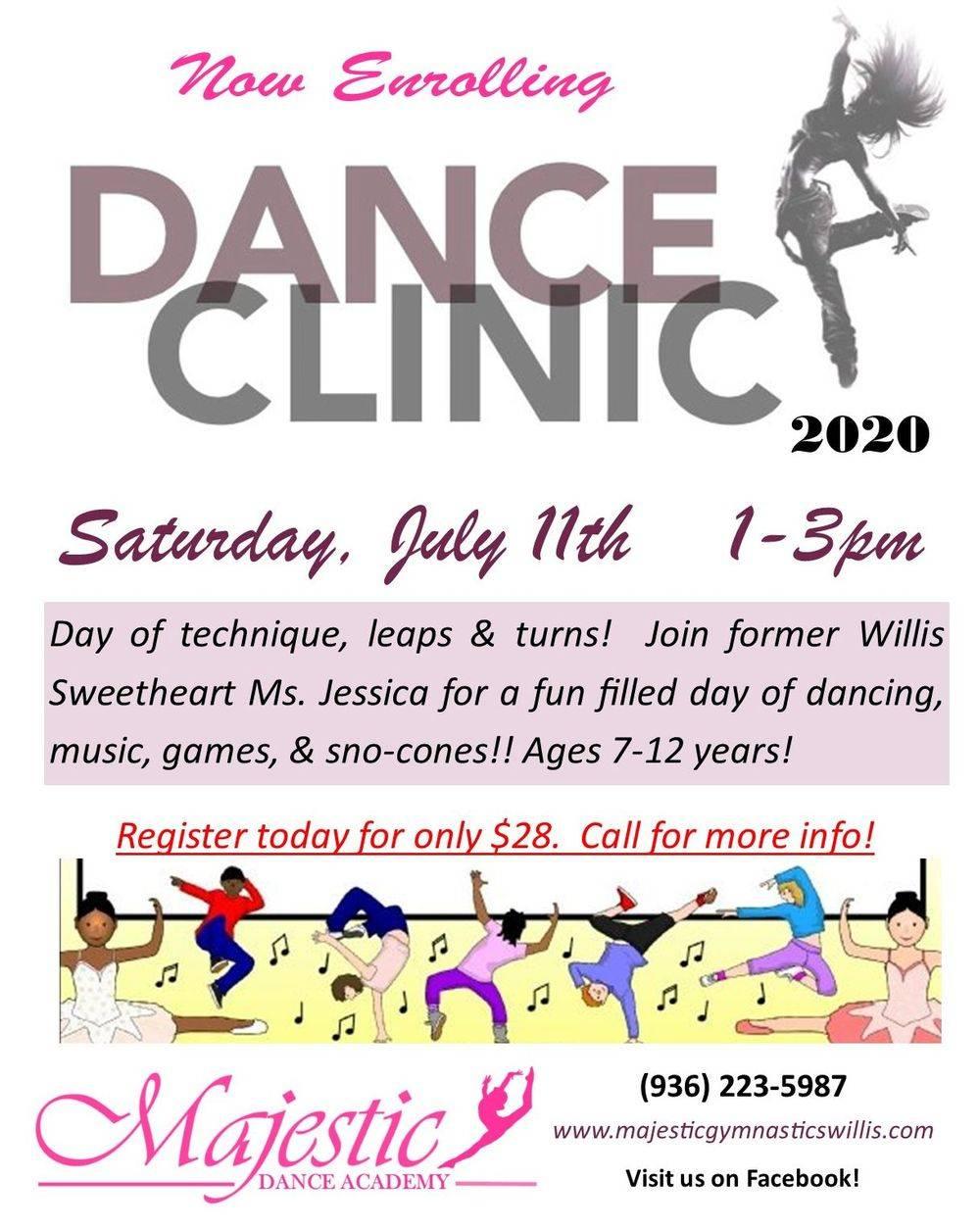 dance clinic willis texas conroe texas