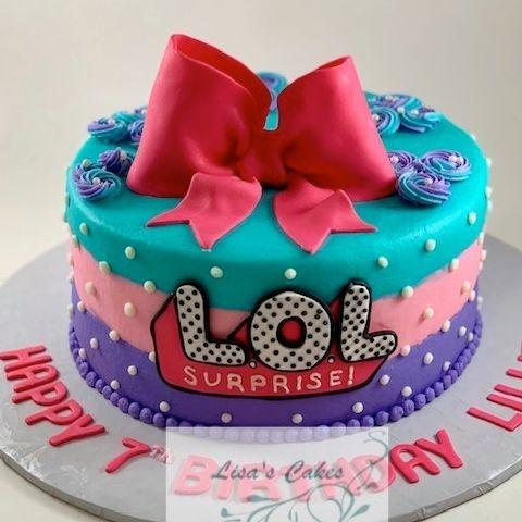 L.O.L Birthday Cake