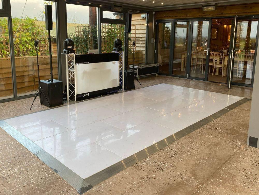DJ Ollie Clarke LED Dancefloor  High Grosvenor House