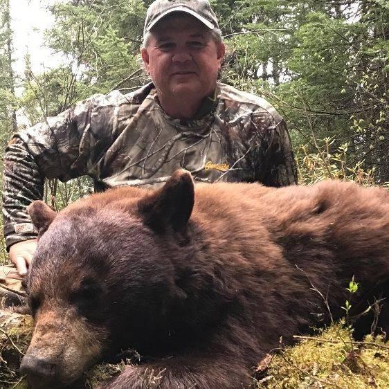 Manitoba black bear, hunting lodge, hunting, fishing