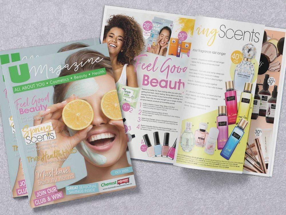 Beauty promotion, Health Magazines, Pharmacy Social Media,