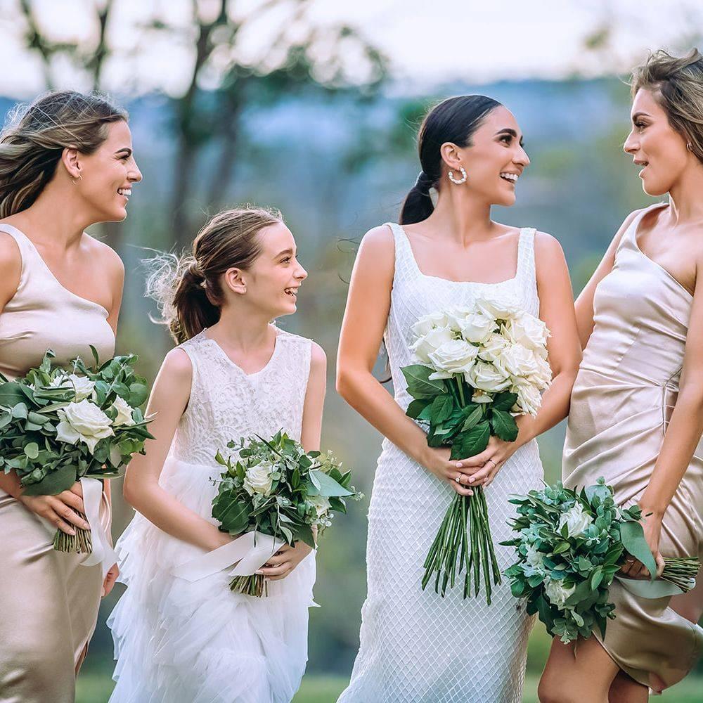 Bridal Party Florals Toowoomba Florist
