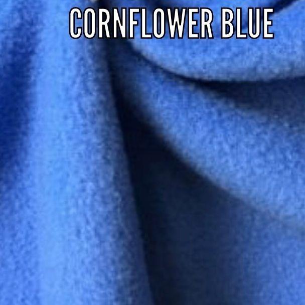 cornflower blue fabric