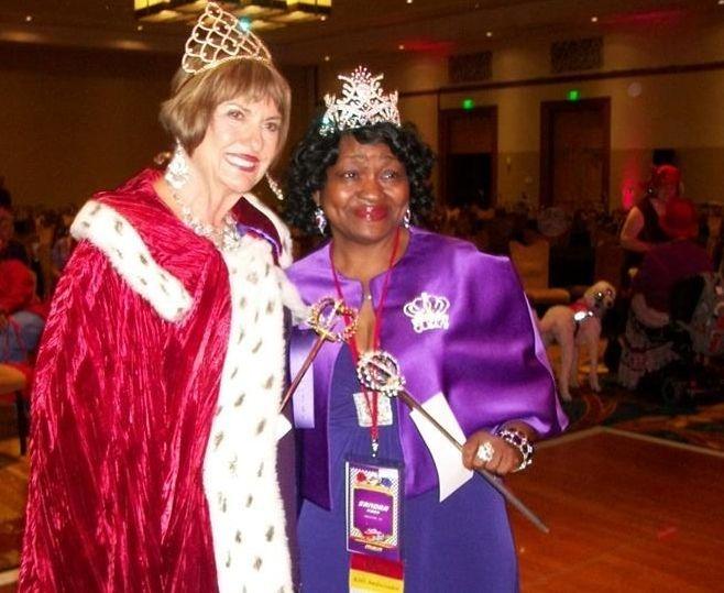 RHS Founder Exalted Queen Mother Sue Ellen Cooper & Queen Sandra Gibbs
