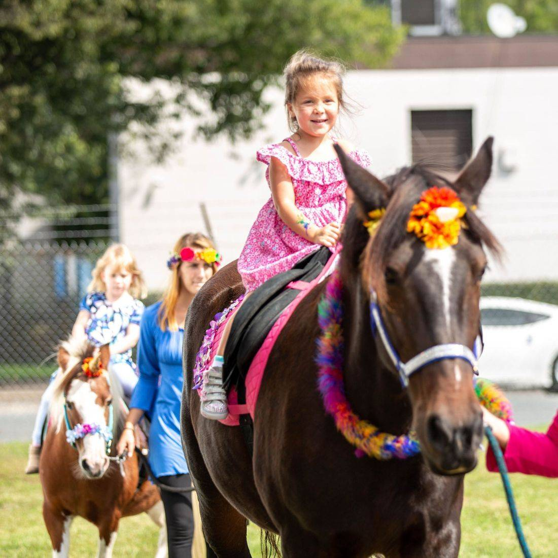 Unicorn rides, unicorn riding, horses, horse, kids, fairy festival