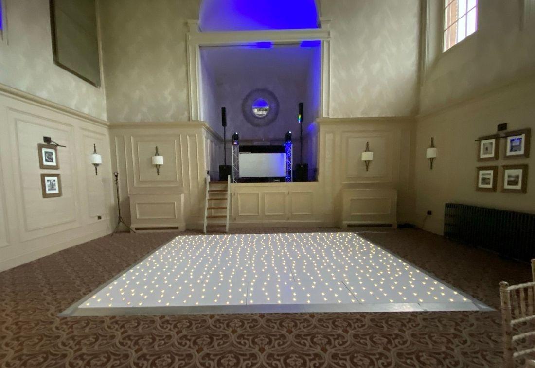 Stanbrook Abbey Wedding Venue Hagley Worcestershire Wedding DJ Led Dancefloor
