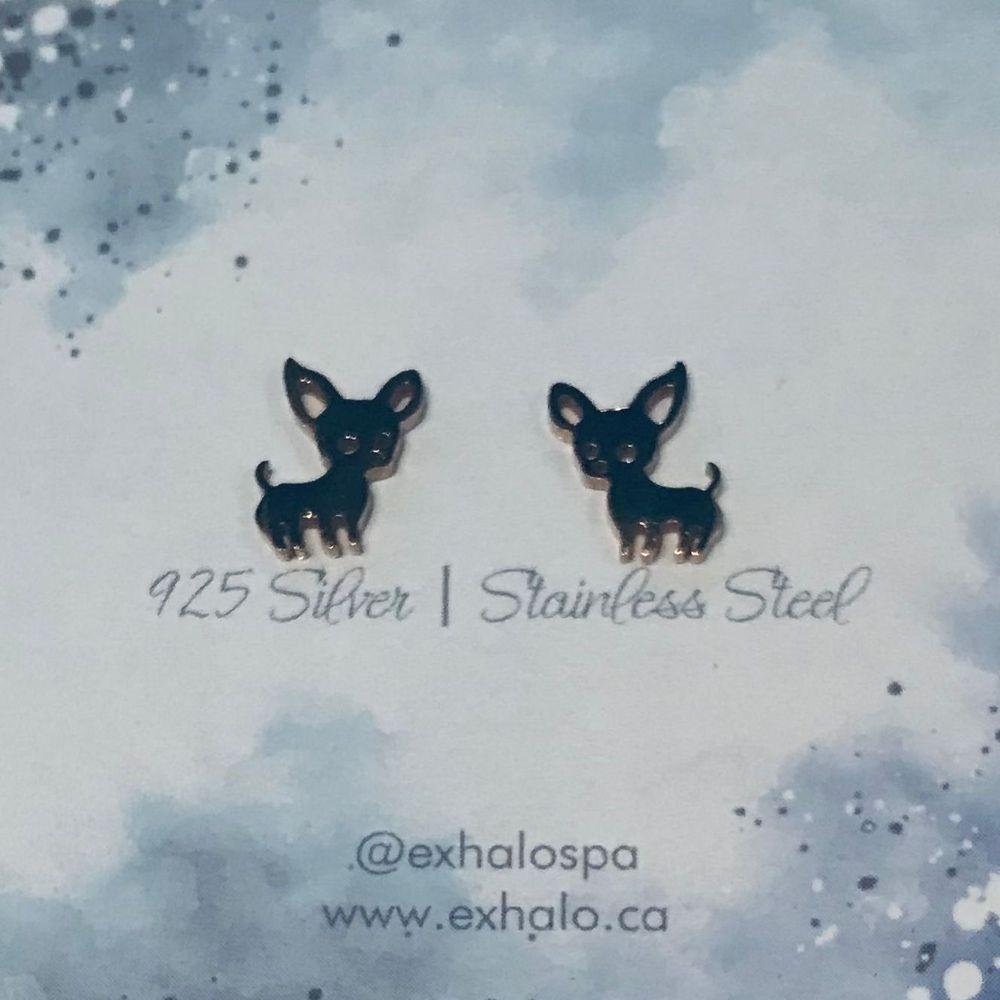 Chihuahua earrings