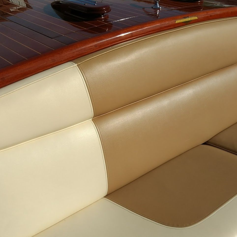 custom interior on shepherd boat