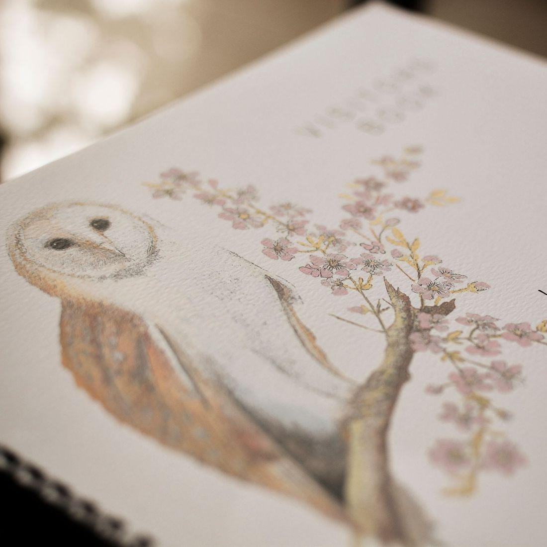 La Chouette guest book