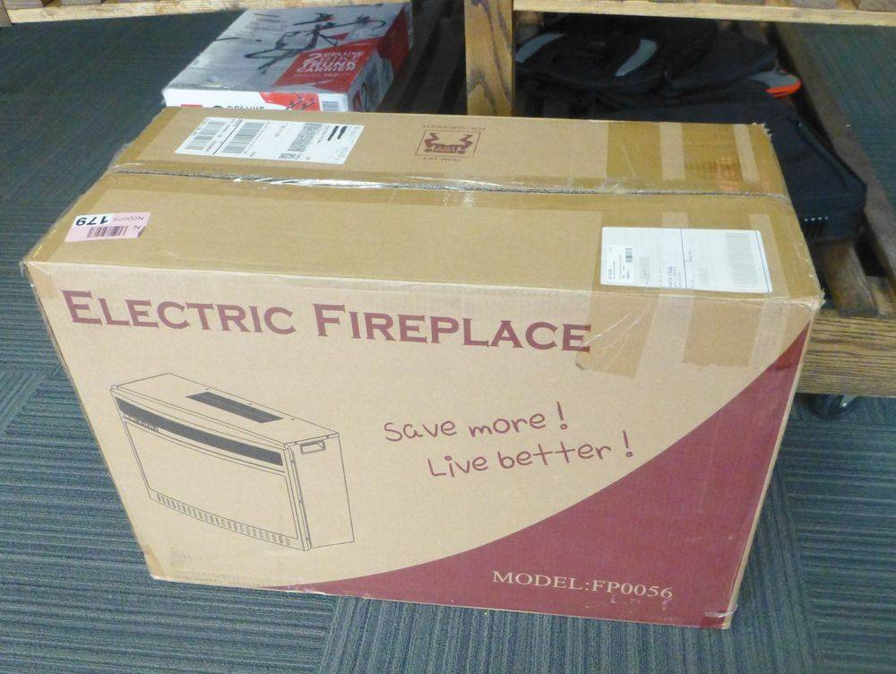Electric Fireplace in box for sale