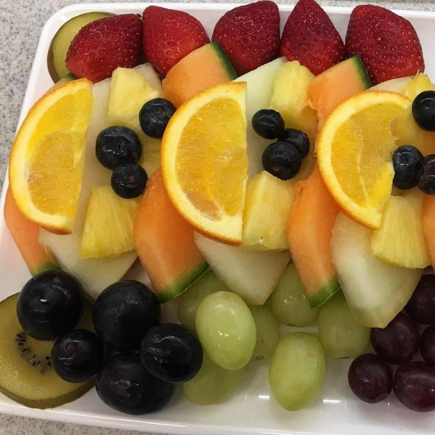Mix & Blend Catering Fresh Fruit Platter Selection