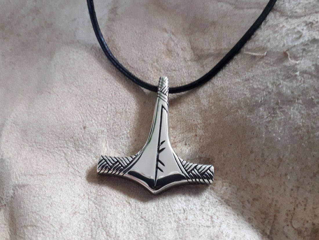 'LIFA' mjölnir hammer of thor Viking jewellery