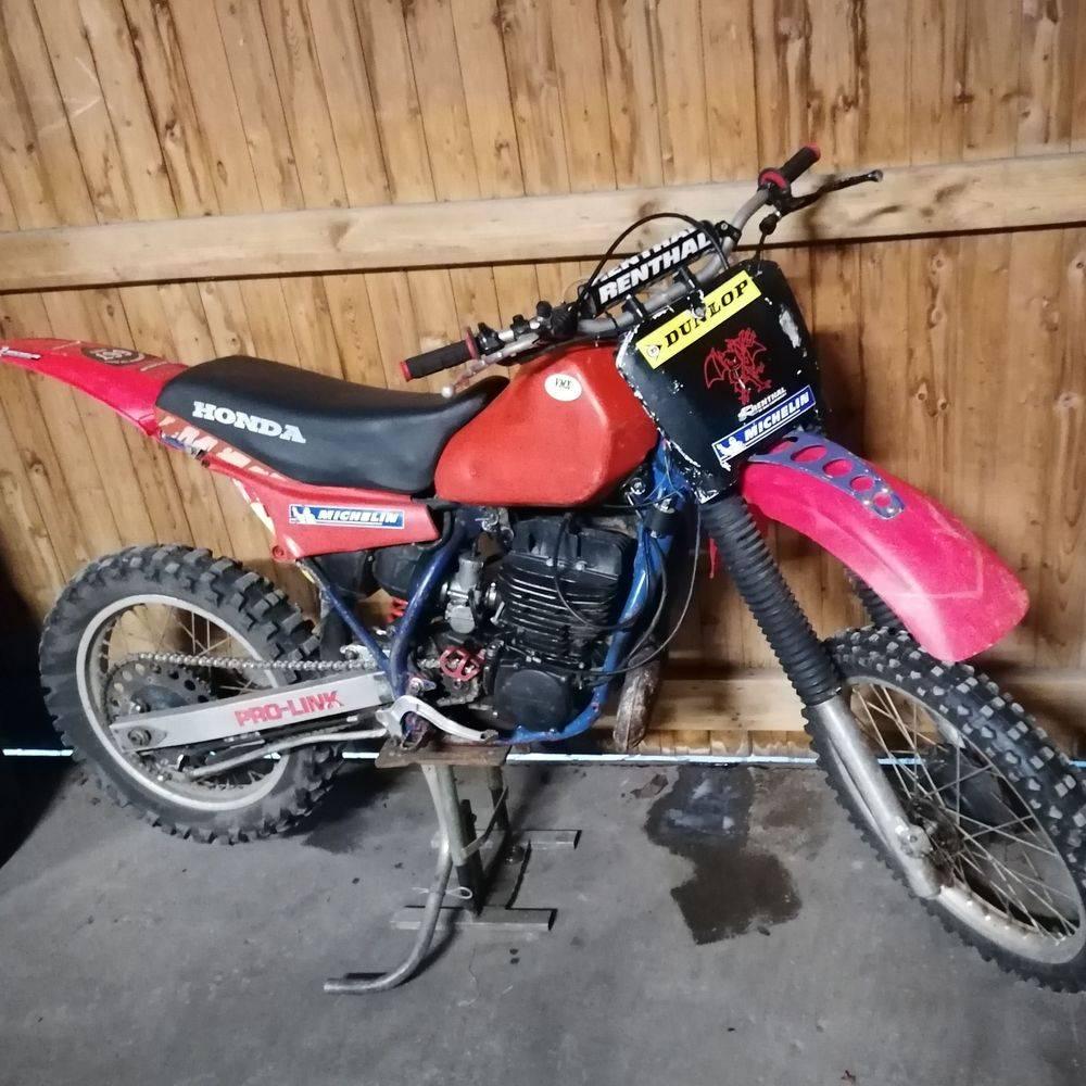 CR 480 CR 500 Honda Vintage Oldtimer MX Motocross