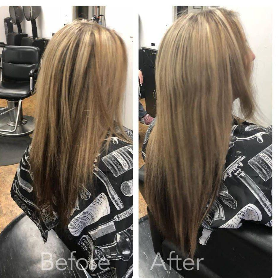 Hair extensions, Donna Bella, Tape-in Extensions