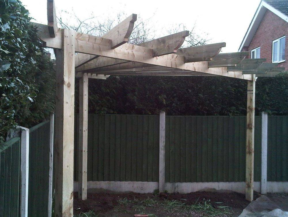 Garden structures Manufactured and installed.
