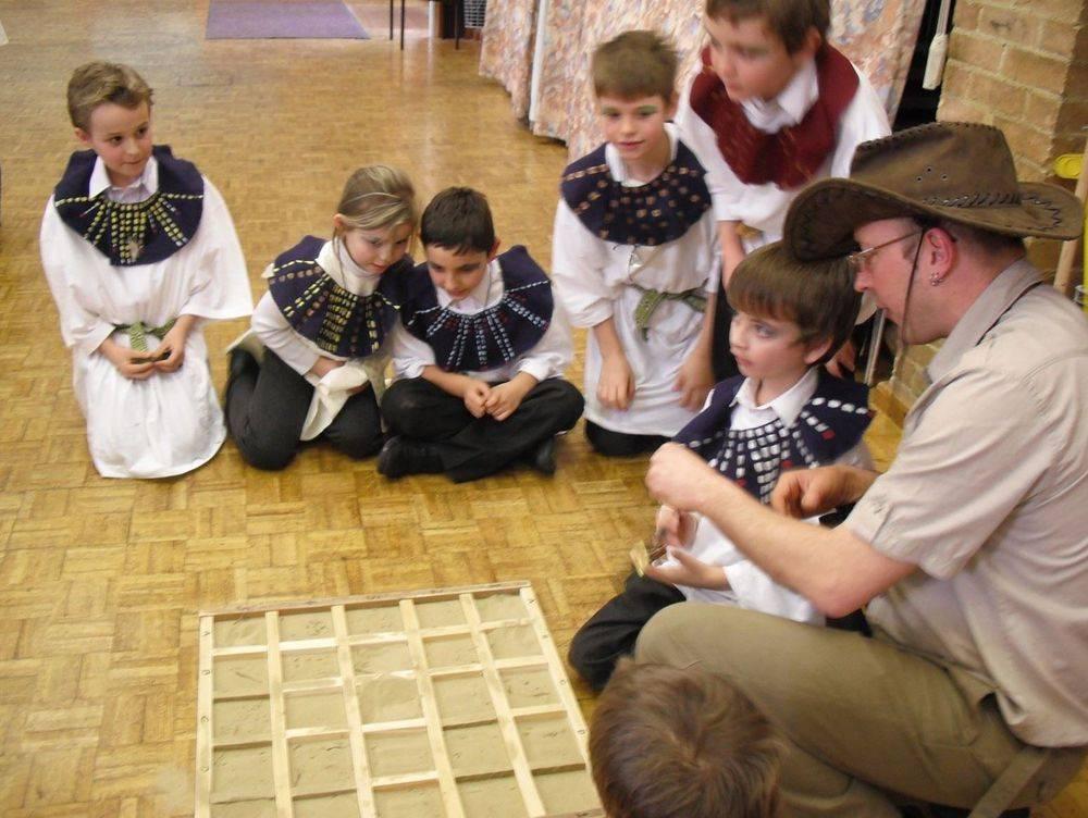 Ancient Egyptian workshp for schools KS1 & KS2