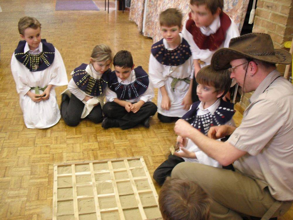Ancient Egyptian workshp for schools KS1 & KS2