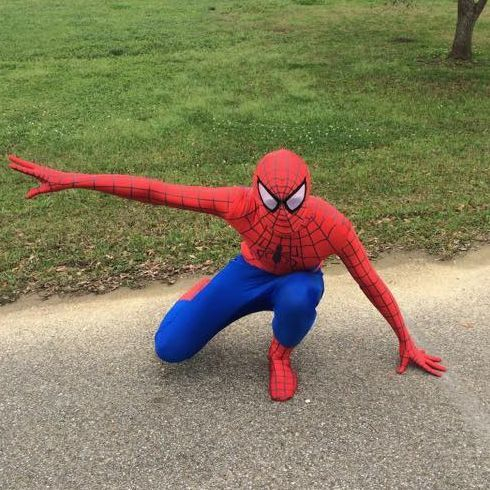 Spider-Man Birthday Party Biloxi