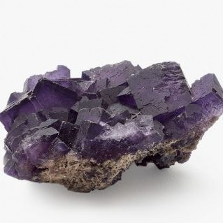 Purple fluorite from UK