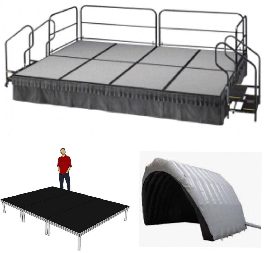 Modular stage & awning