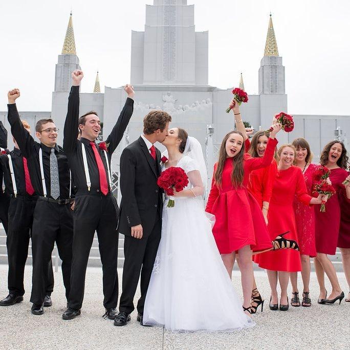 MORMON WEDDING